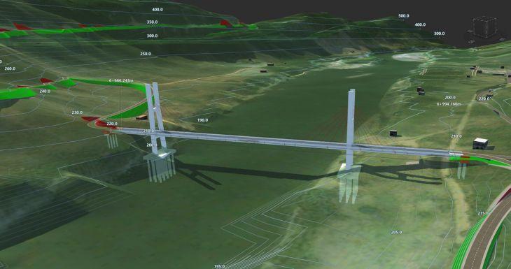 Expediente técnico del puente y carretera a Sauce tiene avance de 45%