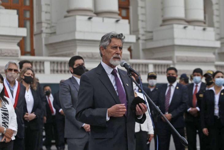 Francisco Sagasti jurará como presidente de la República mañana a las 4:00 PM