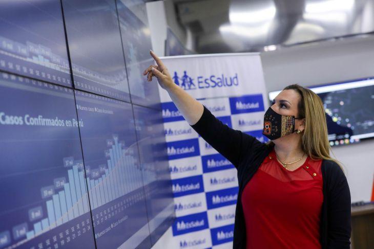 EsSalud: Pico más alto de contagios podría presentarse en primer trimestre del 2021