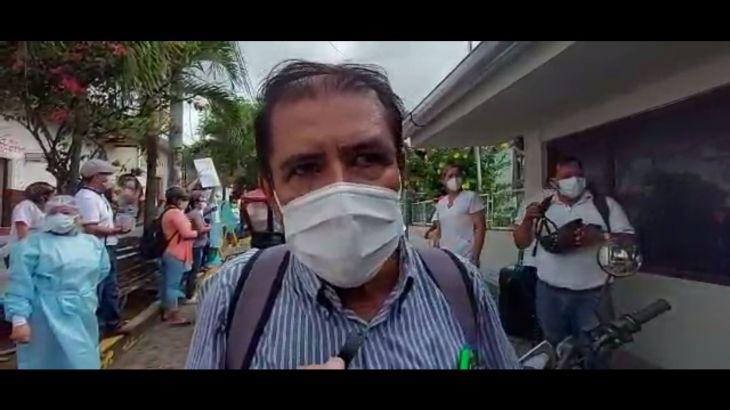 Trabajadores del sector Salud continúan exigiendo pago de bono Covid-19
