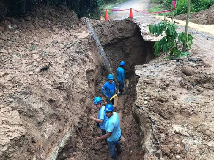 Población de Saposoa está sin el servicio de agua potable desde el domingo por la tarde