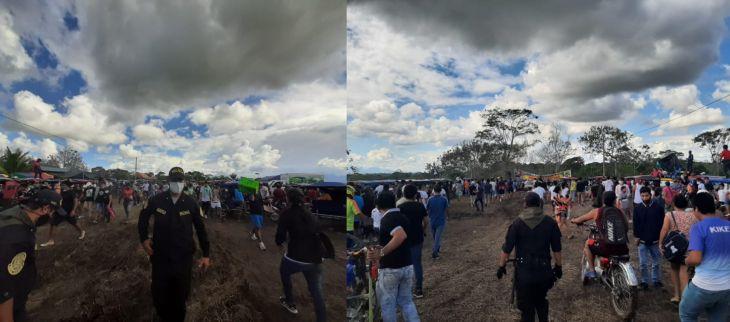 """Desalojan casi a mil personas de evento de """"motocar cross"""""""