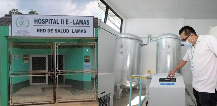 Alcalde de Lamas, informó que Gobierno Regional de San Martín instalará planta de oxígeno en Lamas