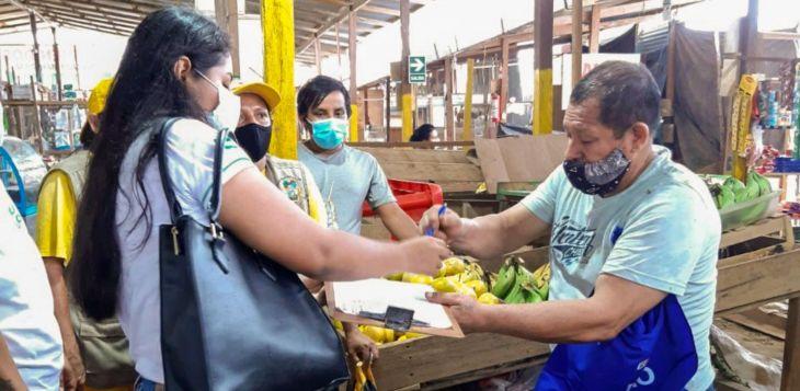 MPSM: Los mercados El Platanito y Limatambo no se cumple con los protocolos de bioseguridad para prevenir el contagio de la Covid-19
