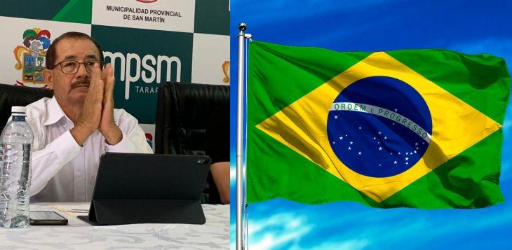 Gobernador Regional de San Martín pide cerrar frontera con Manaos Brasil