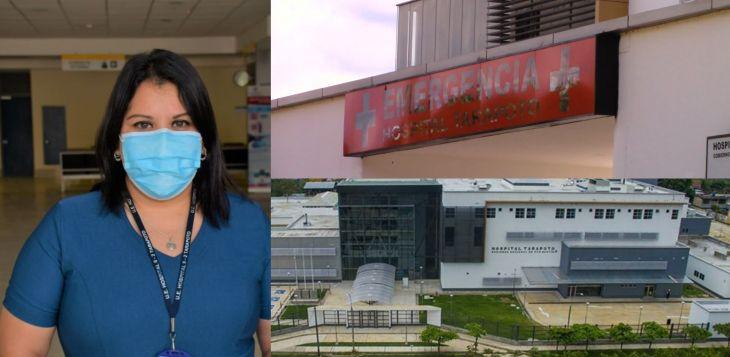 Directora del Hospital de Tarapoto: Ya estamos viviendo la primera etapa de la segunda ola en San Martín