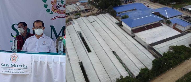Esta mañana fue entregado formalmente el Hospital de La Banda de Shilcayo al sector salud