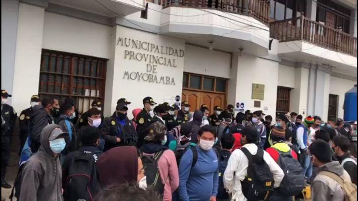Alto Mayo: Subprefectura de Moyobamba no dio autorización y garantías para paro de 48 horas