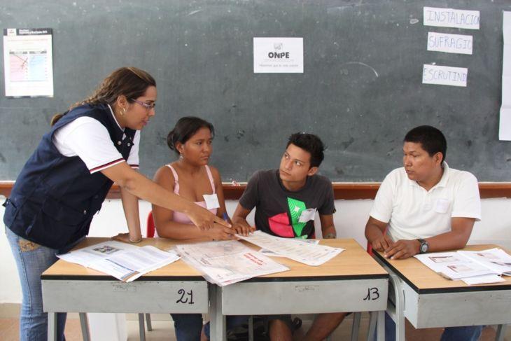 ONPE publicará este jueves 18, lista definitiva de miembros de mesa y también los locales de votación para las elecciones generales