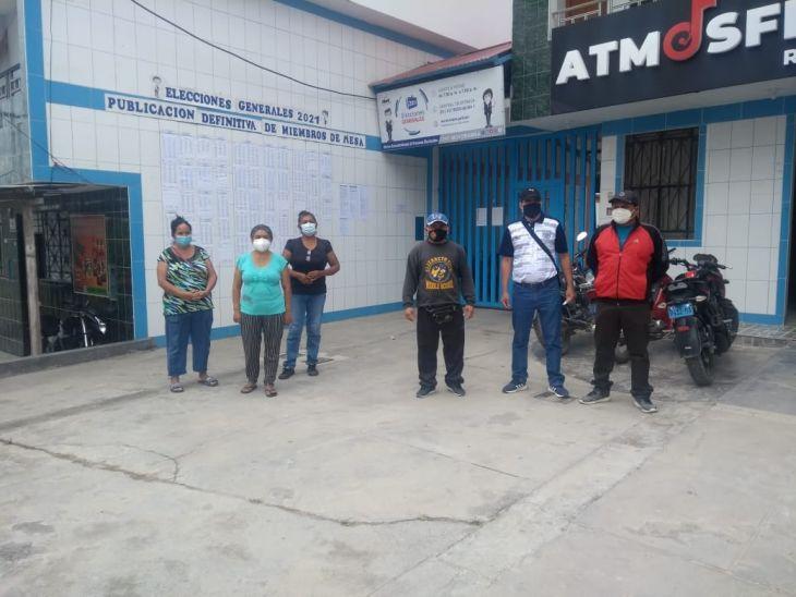 ONPE determinó de manera unilateral que vecinos de Jr. El Dorado de Moyobamba vayan a emitir su voto en la comunidad de Atumplaya