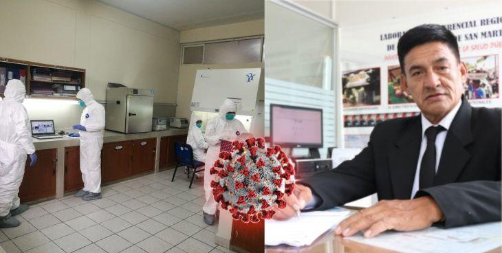 Laboratorio Referencial de Salud de San Martín, envío muestras el Instituto Nacional de Salud para determinar si en la región ya está presente la nueva variante de la Covid-19