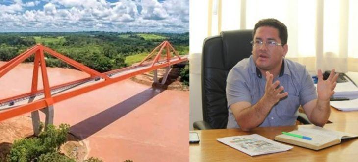 El Alcalde de Mariscal Cáceres mostró su preocupación por que el MEF no consideró en el presupuesto general de la república del 2021 el financiamiento de la construcción del puente Tarata