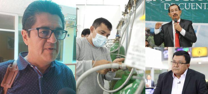 Walter Jorge: El retraso de la reparación de las plantas de oxígeno del hospital de Tarapoto fue un tema muy vergonzoso
