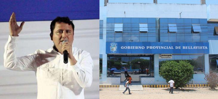 Hoy se realizará sesión extraordinaria del Concejo, para tratar pedido de vacancia del Alcalde de Bellavista, Eduar Guevara Gallardo