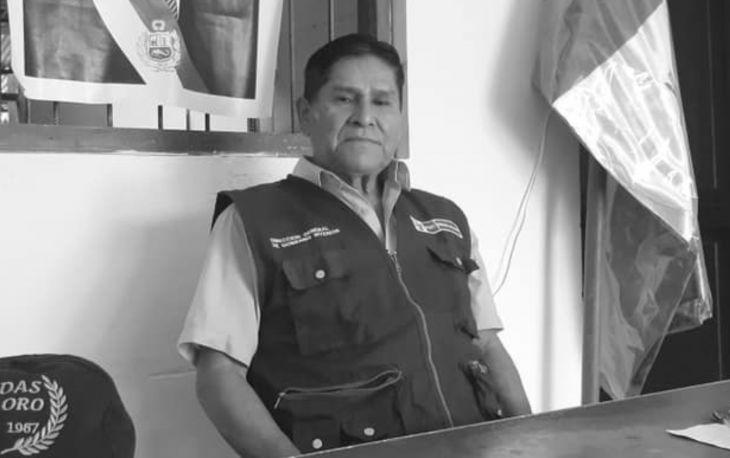 Víctima de COVID 19 ayer por la mañana falleció Subprefecto del distrito de San Hilarión, en la provincia de Picota