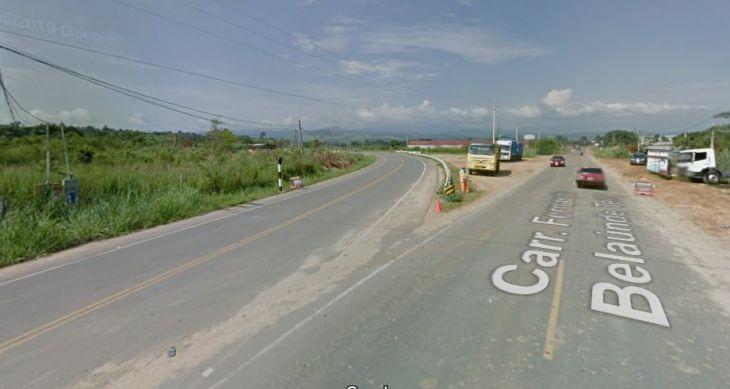 Banda de Shilcayo: Cruce que une las dos vías de evitamiento sigue produciendo accidentes de tránsito