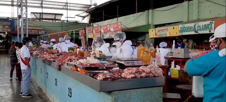 Tarapoto: Según Defensa Civil, puestos de venta en mercado n° 3 no reúnen condiciones de seguridad