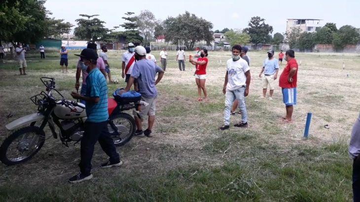 Sigue causando enfrentamiento el campo deportivo del Club Sport Boys en el Barrio Huayco de Tarapoto
