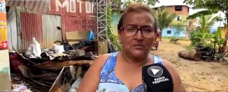 Damnificada denunciará a carpintero sindicado de ocasionar el incendio que redujo a cenizas tres viviendas en La Banda de Shilcayo