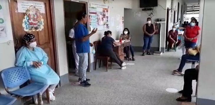 Por segundo día trabajadores del centro de Salud de Morales acatan huelga indefinida