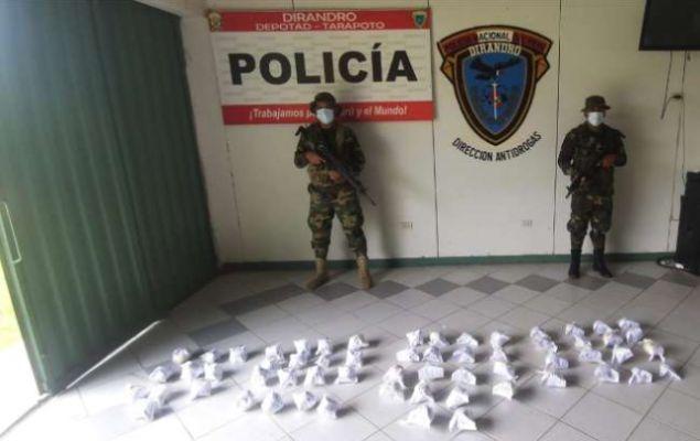 Abandonan camión con 26 kilos de PBC, cerca de Yurimaguas en la región Loreto
