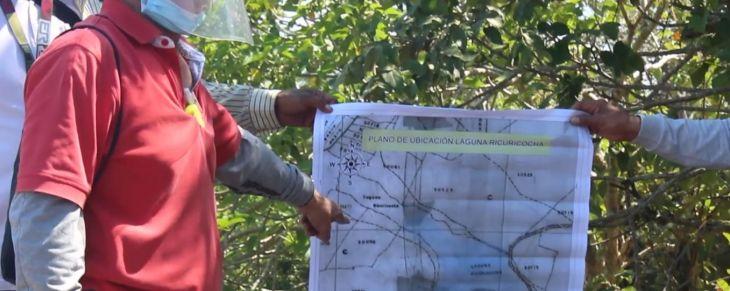 Para salvaguardar laguna que pertenece a Morales y Tarapoto colocarán 22 hitos monumentales en Ricuricocha