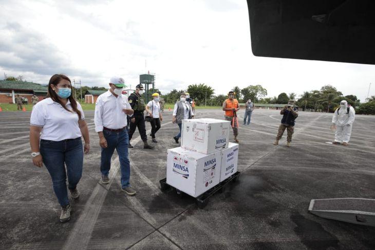 Hoy llegará a San Martín, segundo lote de vacunas contra la Covid-19
