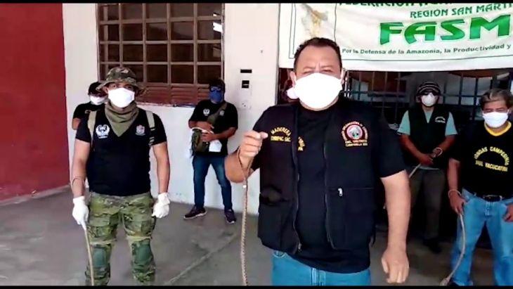 40 mil Ronderos en la región San Martín ejercerán control en sus respectivas jurisdicciones durante semana santa