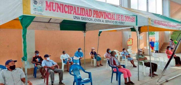 San José de Sisa: Por deuda de 89 soles al SIS adulto mayor no fue vacunado contra el covid-19