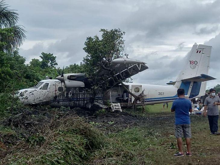 Loreto: Avión sufre despiste cuando aterrizaba en aeródromo de San Lorenzo