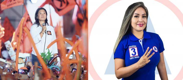 Portal Ojo Público: Cheryl Trigozo aparece como aportante de Fuerza Popular en el 2016 según la ONPE