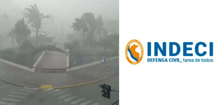 Instituto Nacional de Defensa Civil recomienda medidas de prevención ante anuncio de lluvias este 9 y 10 de marzo