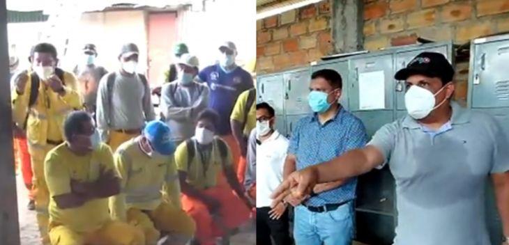 Alcalde encargado de Tarapoto, se comprometió que en 48 horas harán efectivo pago de trabajadores de Limpieza Pública