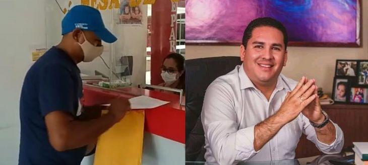 Ciudadano de Juanjuí solicita vacancia del alcalde de la provincia de Mariscal Cáceres, por presuntamente contratar a su tío