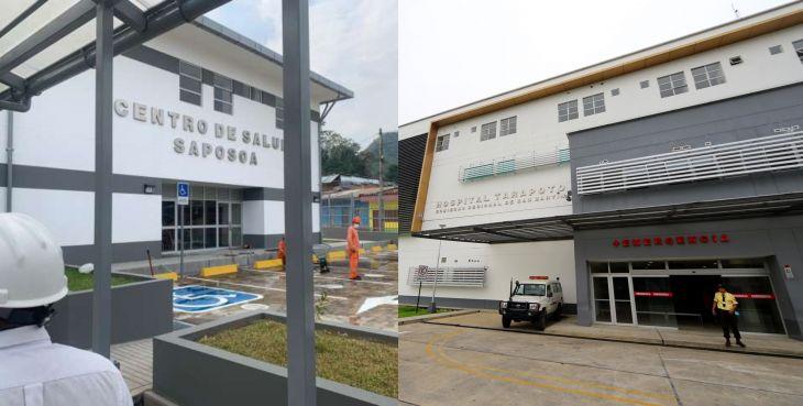Centro de Salud de Saposoa cede en sesión de uso ventilador mecánico para UCI al hospital MINSA de Tarapoto