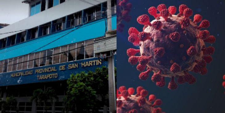 13 trabajadores de la Municipalidad Provincial de San Martín, dieron positivo a Covid 19