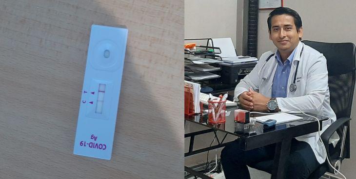 Conmovedor mensaje de Neumólogo del hospital de Tarapoto tras contagiarse con Covid-19