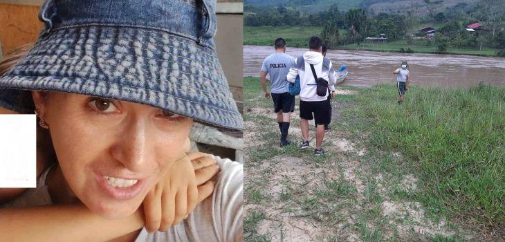 Cadáver de mujer que desapareció en el río Mayo cerca de Moyobamba fue ubicado ayer en la zona del distrito de Juan Guerra
