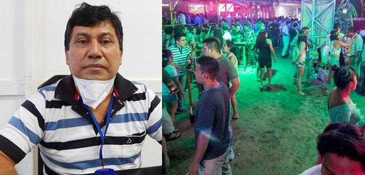 Alcalde del distrito de Morales, advierte que no habrá más tolerancia con negocios que permitan aglomeraciones