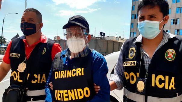 Capturan en Lima a conocido docente de la I.E 0412 de Tocache, fue denunciado por tocamientos indebidos a sus alumnas menores de edad