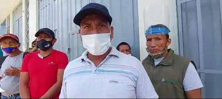 Continúa reclamos de trabajadores de mantenimiento de línea de transmisión eléctrica en el Bajo Huallaga