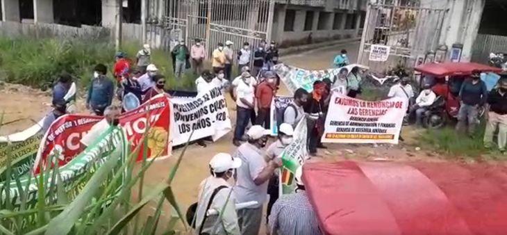 Movilización del FRECIDES no tuvo la participación mayoritaria de la población