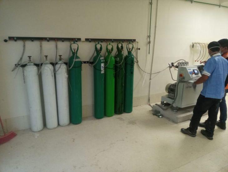 Planta de oxígeno del hospital de la Banda de Shilcayo entró en funcionamiento