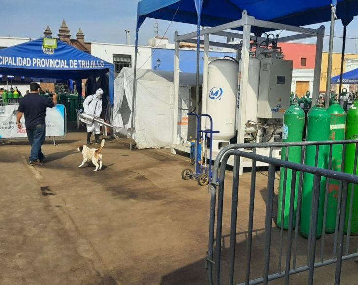 Coronavirus: Municipio de Trujillo adquirirá una tercera planta de oxígeno medicinal