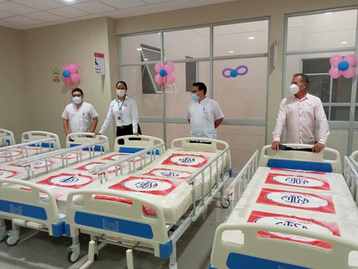 Hospital de Bellavista: Gracias a donación de médico Oftalmólogo, instalan nuevas camas hospitalarias