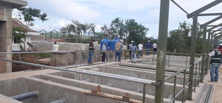 Megaproyecto de agua en Picota: Emapa sostiene que pedidos de ampliaciones y adicionales de la municipalidad de esa provincia han generado retrasos en la culminación del megaproyecto
