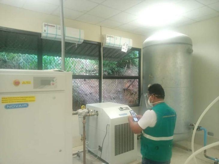 Planta de oxígeno medicinal en el hospital de La Banda de Shilcayo, podría entrar en funcionamiento esta semana