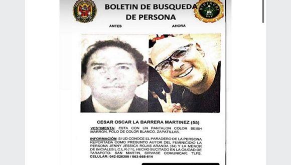 Jefe de la XI Macro Región Policial San Martín – Amazonas, confirma la búsqueda a nivel nacional de sospechoso de crimen de madre e hija en Tarapoto