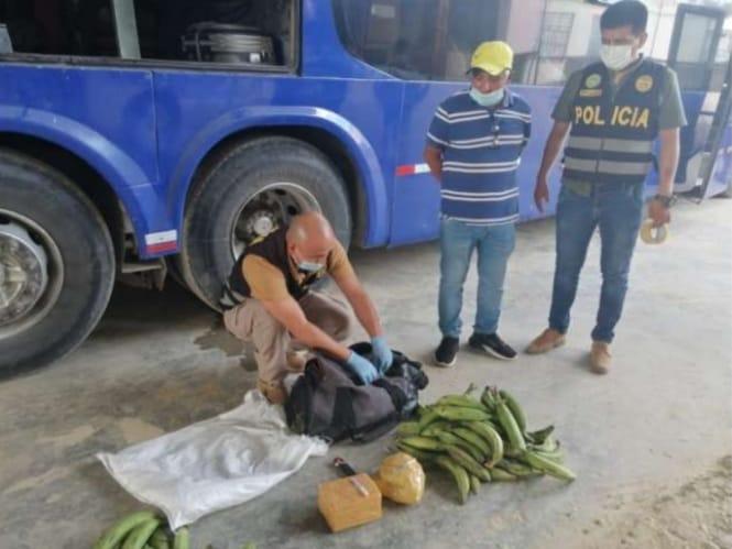 Tocache: Intervienen a pasajero con más de tres kilos de droga de PBC en terminal terrestre