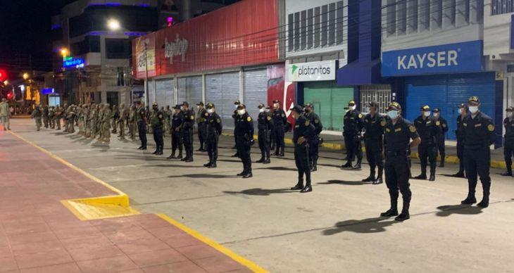 Jefe de la región policial San Martín,  anuncia operativos este fin de semana